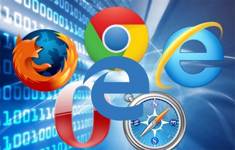 Navegadores Web mais usados neste ano