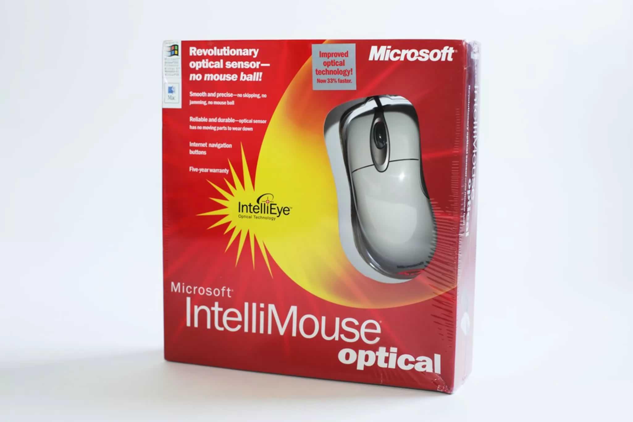 Há vinte anos o mouse da Microsoft revolucionava a informática