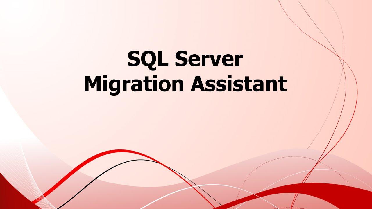 Microsoft SQL Server Migration Assistant v8.2