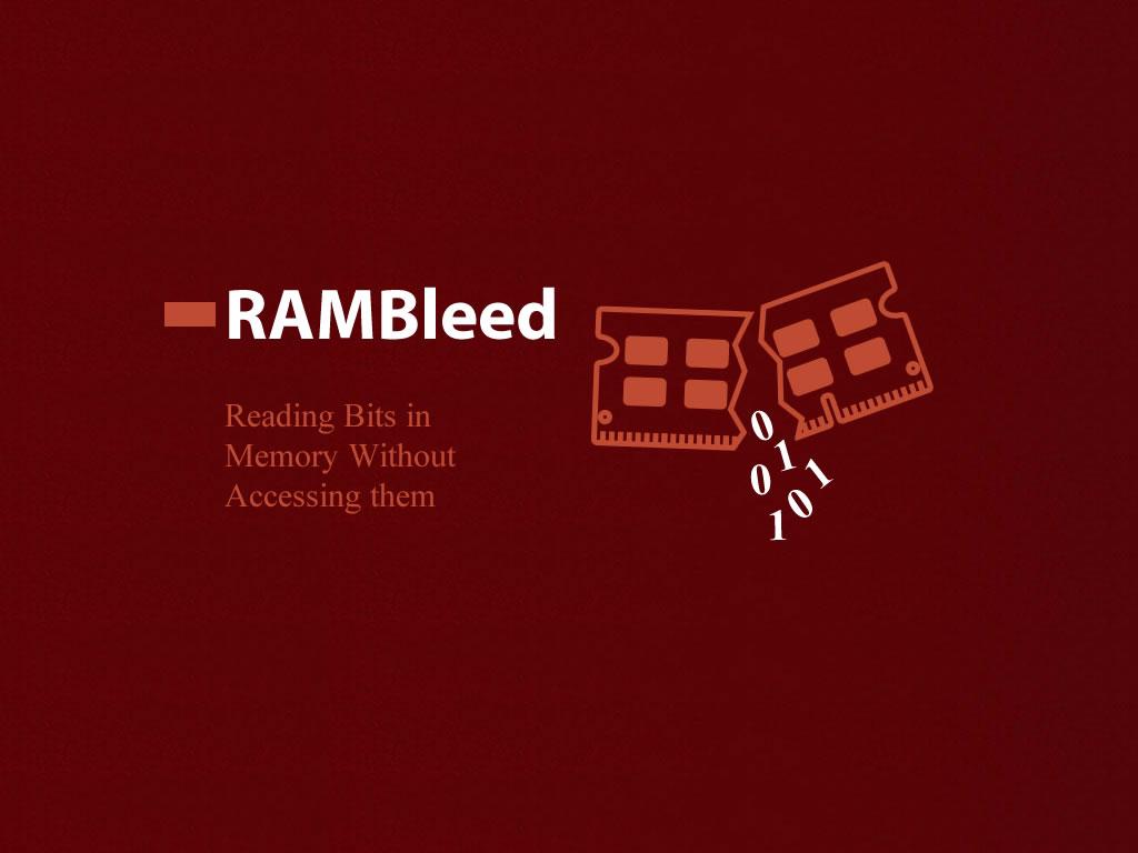 Ataque RAMBleed - Flip Bits para roubar dados confidenciais da memória do computador