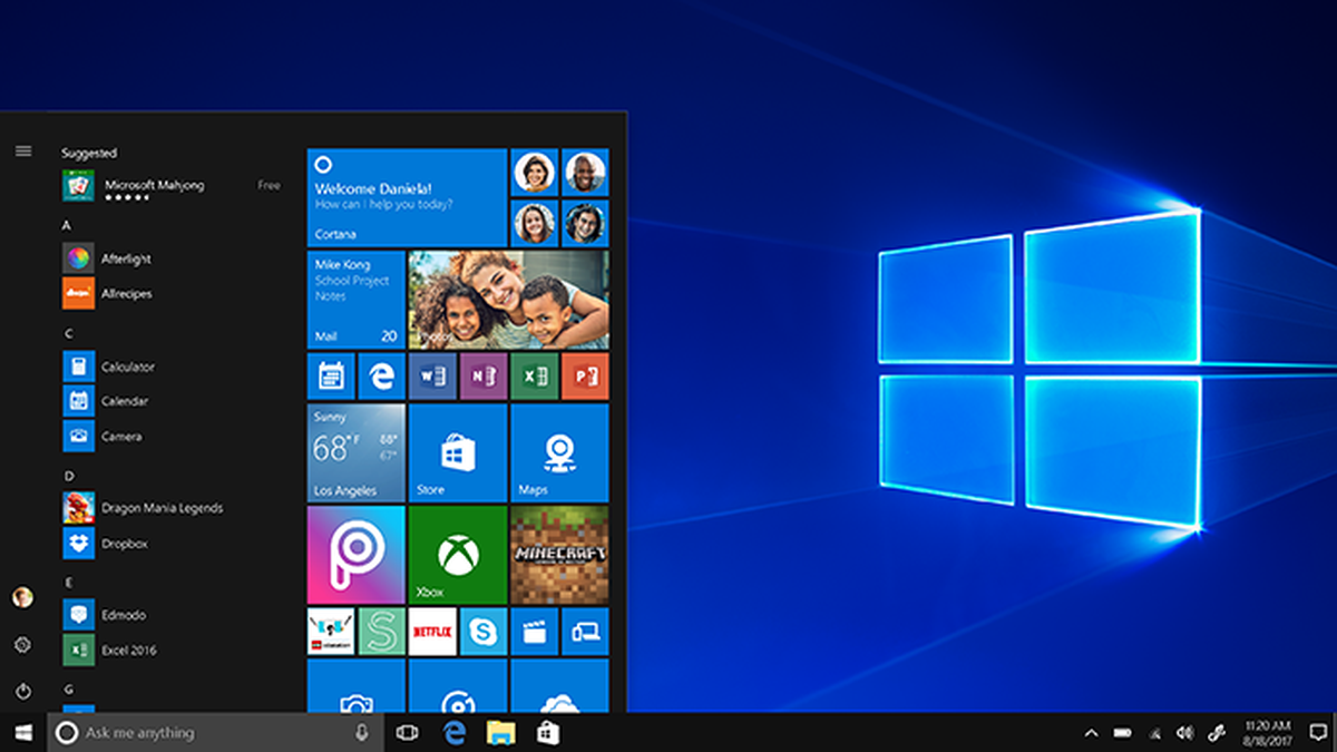 Mais de 900 milhões de computadores no mundo utilizam o Windows 10